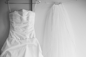 Bride wedding dress