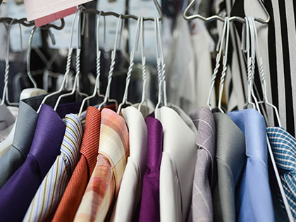 Dry cleaner clothing